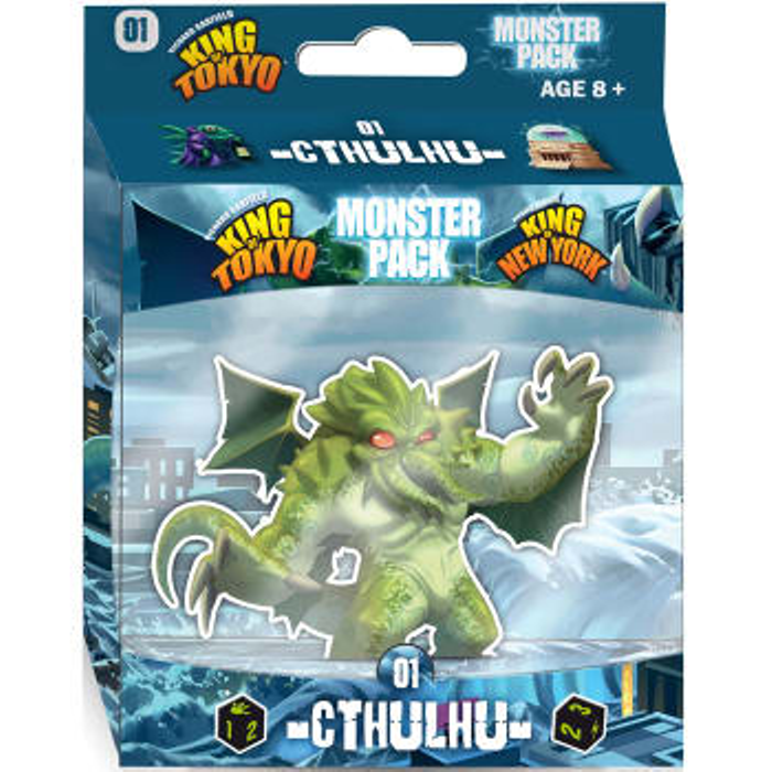 King Tokyo Cthulhu Monster Game Pack