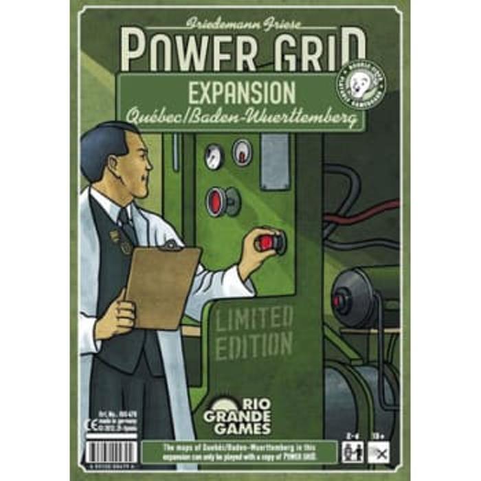 Power Grid: Quebec/Baden-Wurttemberg Expansion