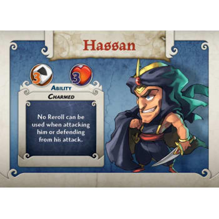 Arcadia Quest: Hassan Expansion