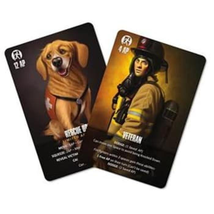 Flash Point Fire Rescue: Veteran & Rescue Dog Accessory Pack