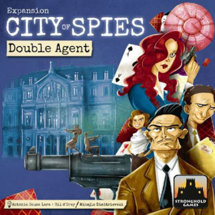City of Spies: Double Agents Expansion