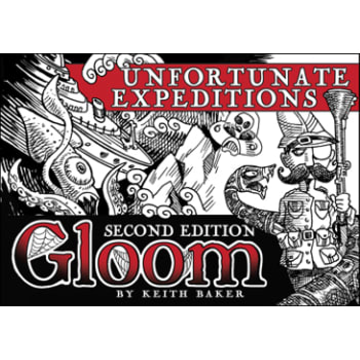 Gloom: Unfortunate Expeditions Expansion (Second Edition)