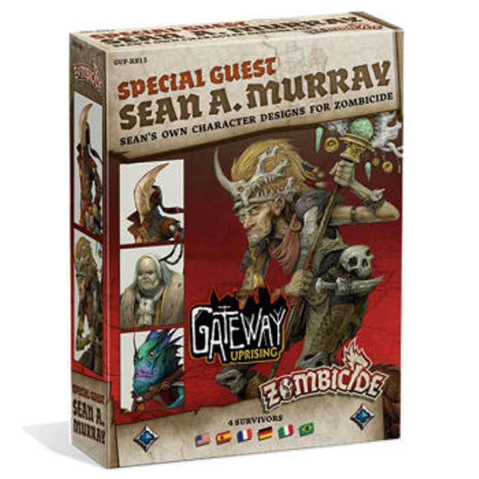 Zombicide: Green Horde Special Guest Box - Sean A. Murray