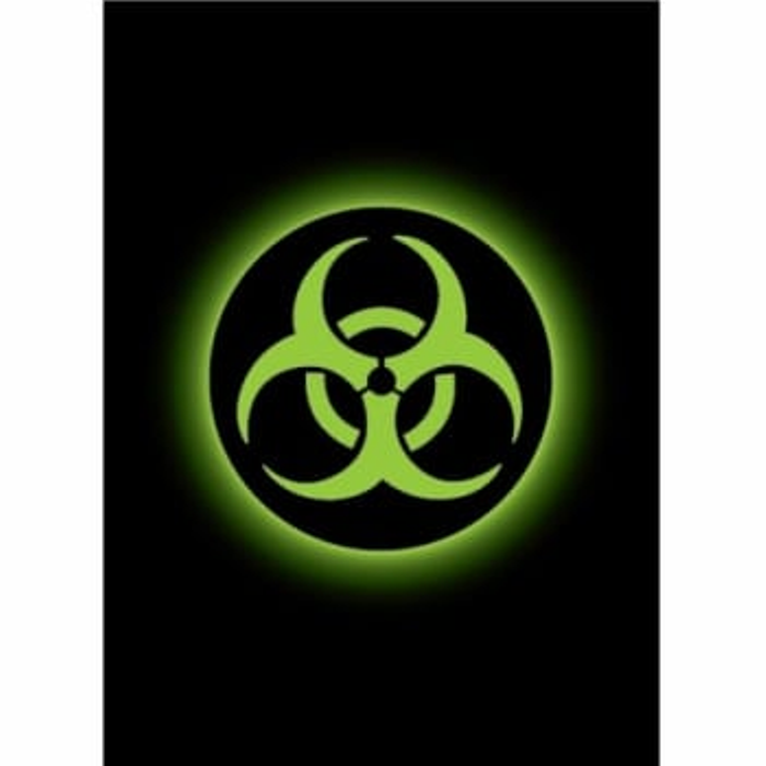 Absolute Iconic Sleeves: Biohazard (50)