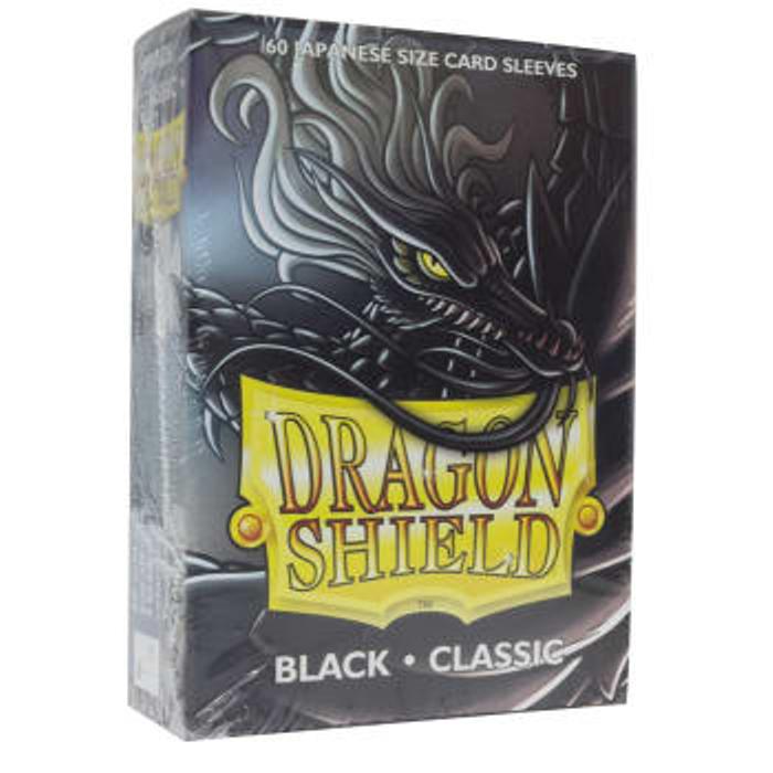 Dragon Shield Sleeves: Japanese Classic Black (60)