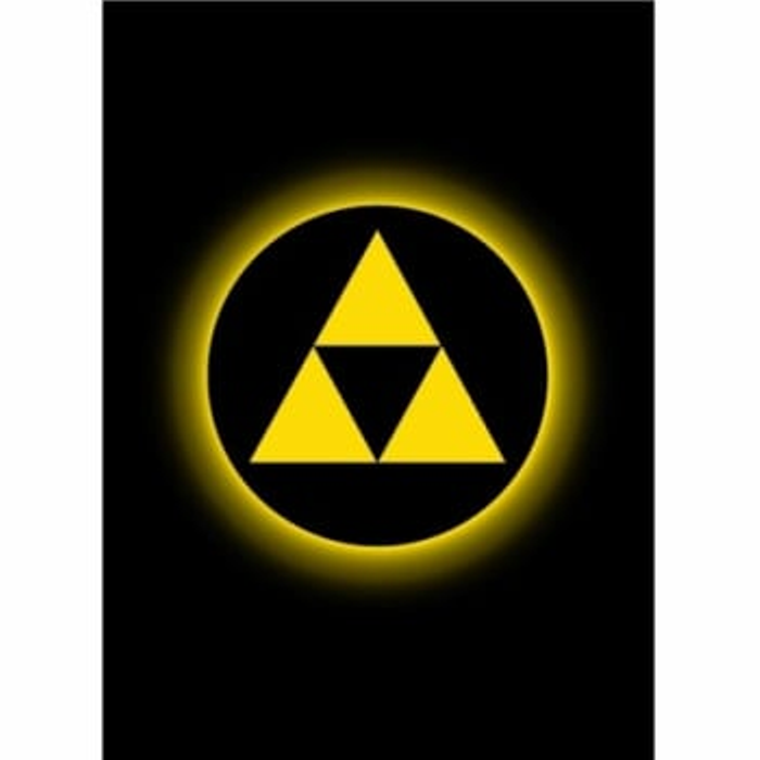 Absolute Iconic Sleeves: Tri-Force (50)