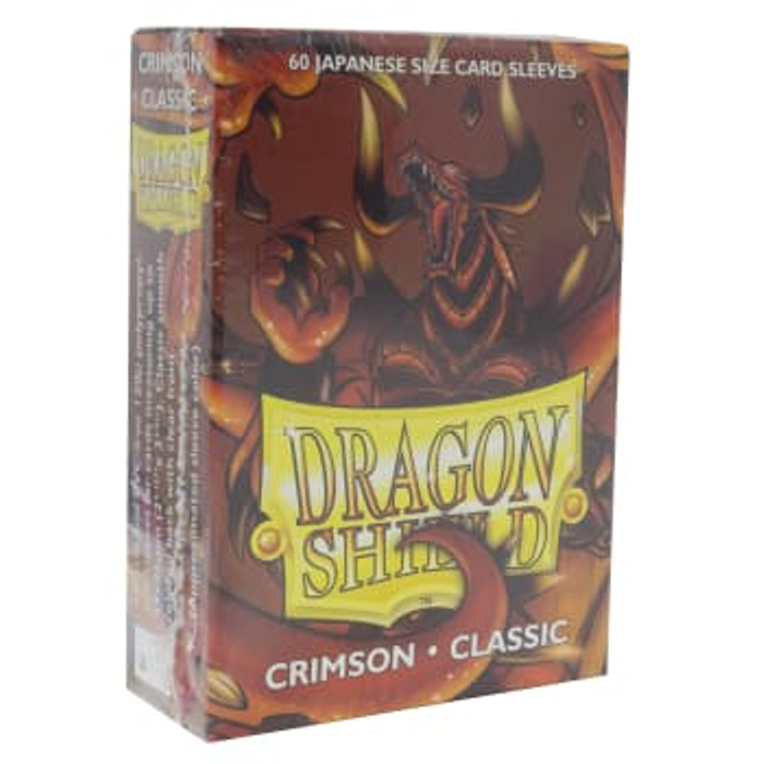 Dragon Shield Sleeves: Japanese Classic Crimson (60)