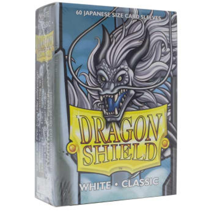 Dragon Shield Sleeves: Japanese Classic White (60)