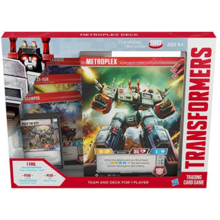 Transformers TCG: Season 1 - Metroplex Deck