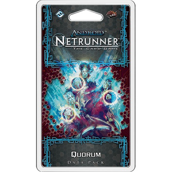 Android Netrunner LCG: Quorum Data Pack