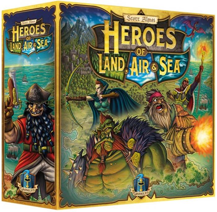 Heroes of Land, Air, & Sea