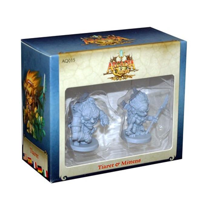 Arcadia Quest: Tiaret & Mittens Expansion
