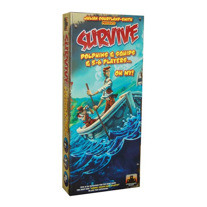 Survive: Escape From Atlantis - Dolphins & Squids & 5-6 Players...Oh My! Expansion