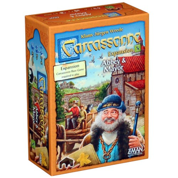 Carcassonne Expansion 5: Abbey & Mayor