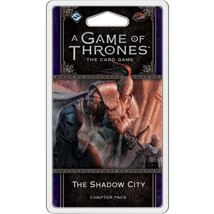 A Game of Thrones LCG (2nd Edition): The Shadow City Chapter Pack