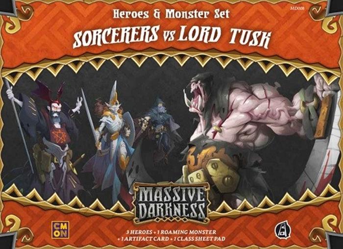 Massive Darkness: Sorcerers vs Lord Tusk