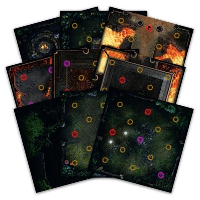 Dark Souls: Darkroot Basin & Iron Keep Tile Set