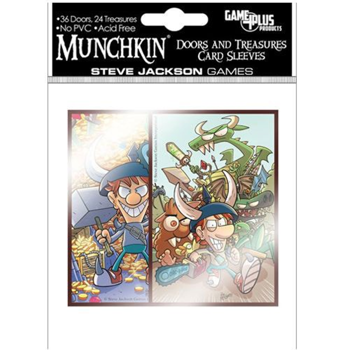 Munchkin: Card Sleeves - Door & Treasure Cards