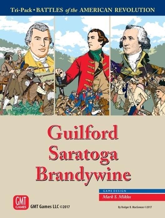 American Revolution Tri-Pack: Guilford, Saratoga, Brandywine