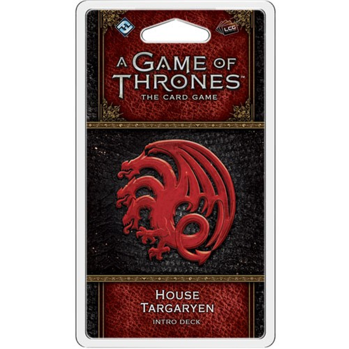 A Game of Thrones LCG (2nd Edition): House Targaryen Intro Deck