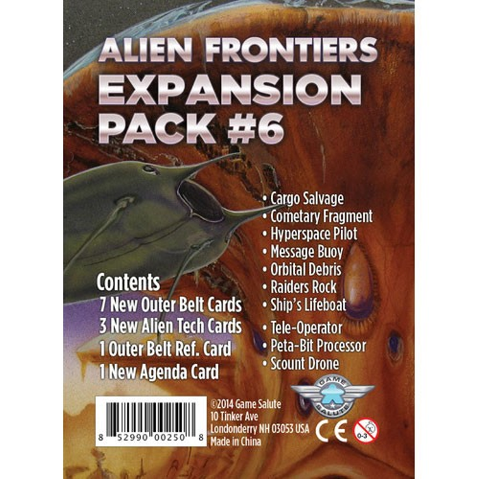 Alien Frontiers: Expansion Pack #6