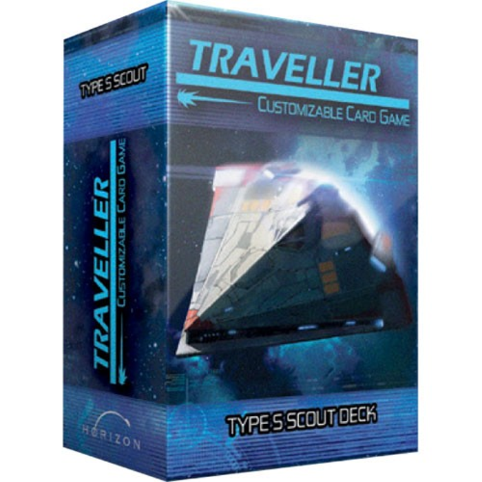 Traveller Customizable Card Game: Type S Scout Ship Deck