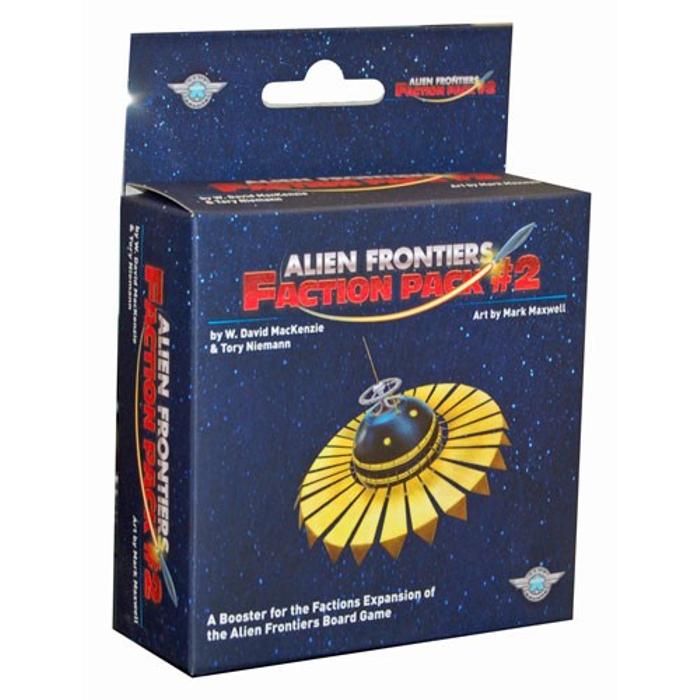 Alien Frontiers: Faction Pack #2