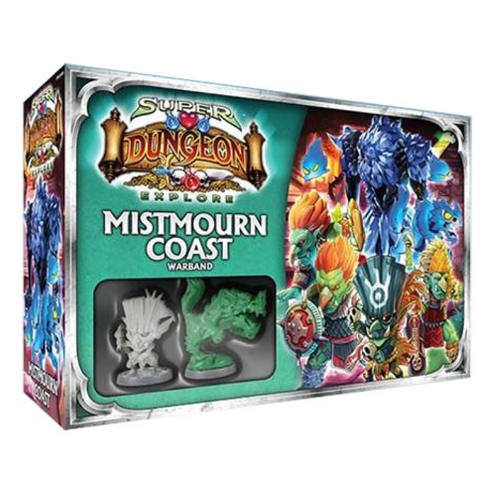 Super Dungeon Explore: Mistmourn Coast Warband Expansion