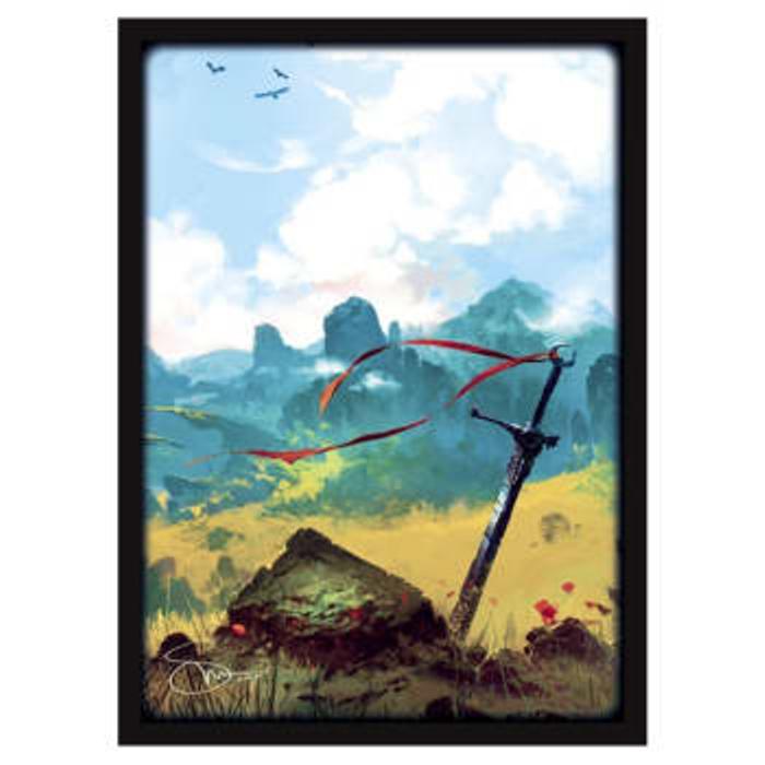 Matte Sleeves: Lands - Plains (50)