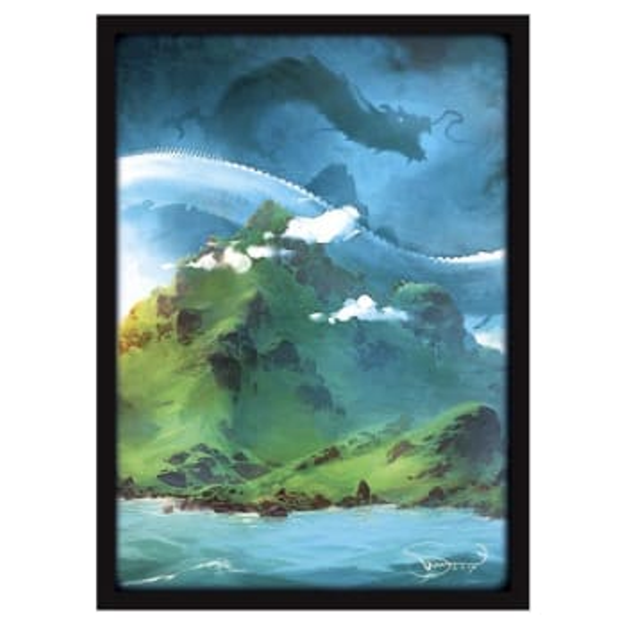 Matte Sleeves: Lands - Islands (50)