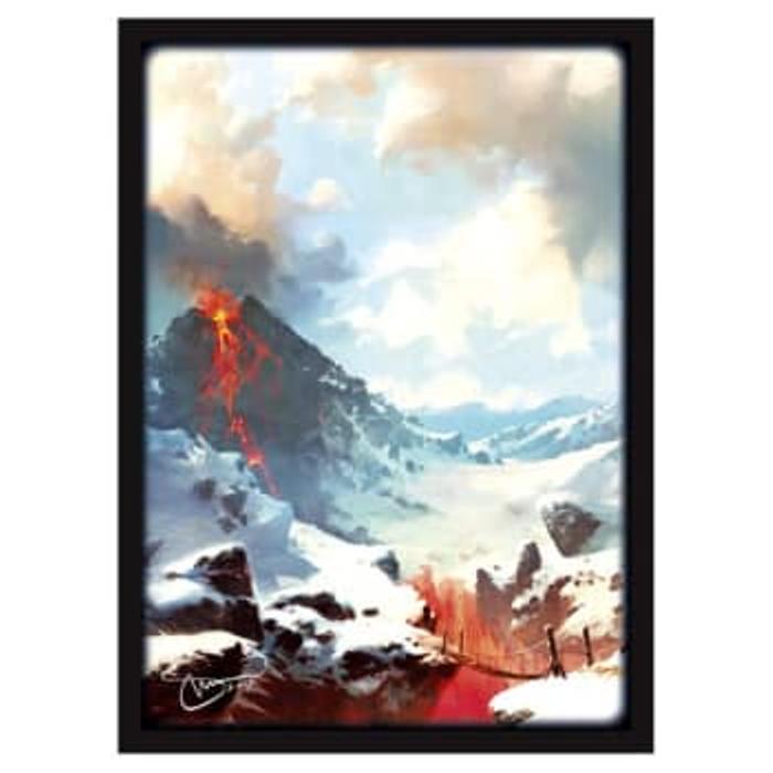 Matte Sleeves: Lands - Mountains (50)