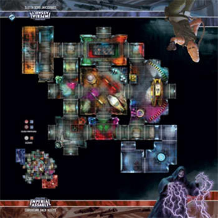 Star Wars Imperial Assault: Coruscant Back Alleys Skirmish Map