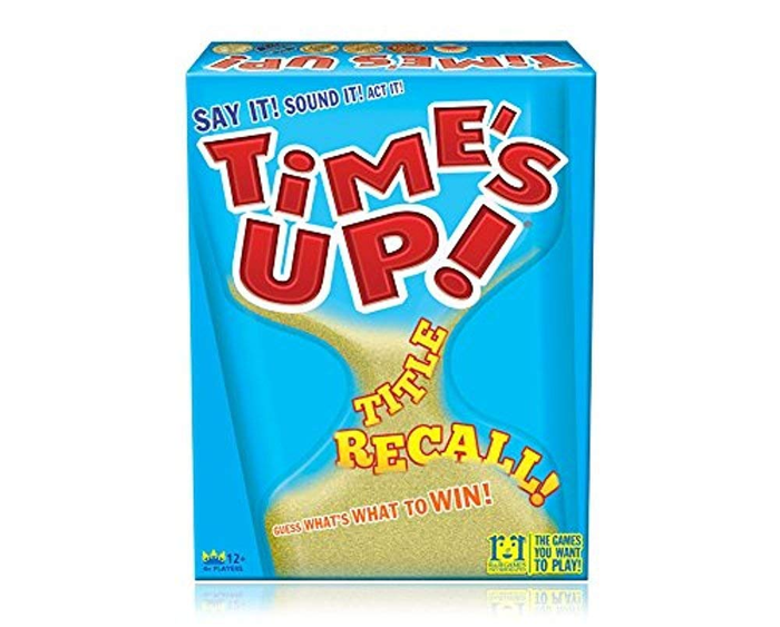Time's Up: Title Recall Board Game