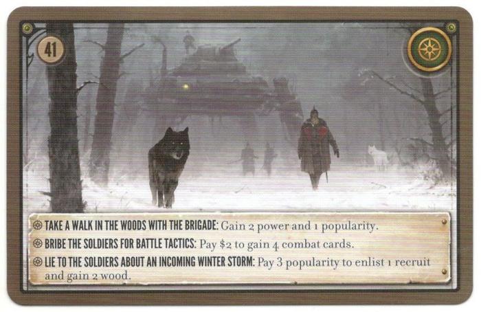 Scythe: Promo Pack #13 – Encounter Card 41