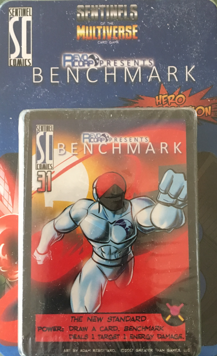 Sentinels of the Multiverse: Benchmark Hero Character