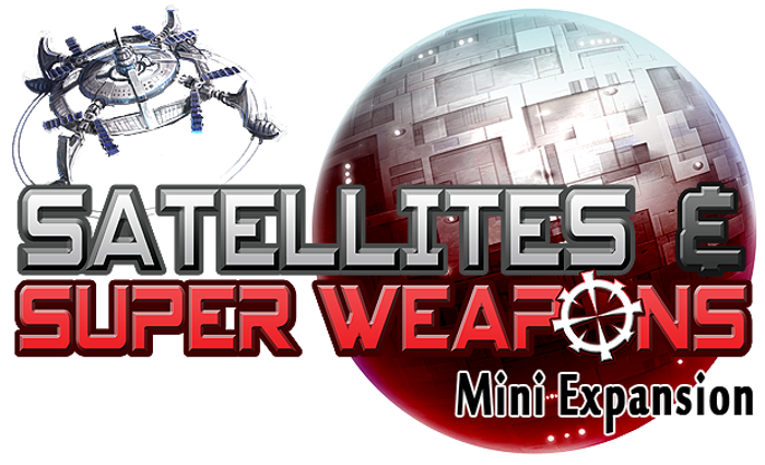 Tiny Epic Galaxies: Satellites & Super Weapons Mini Expansion