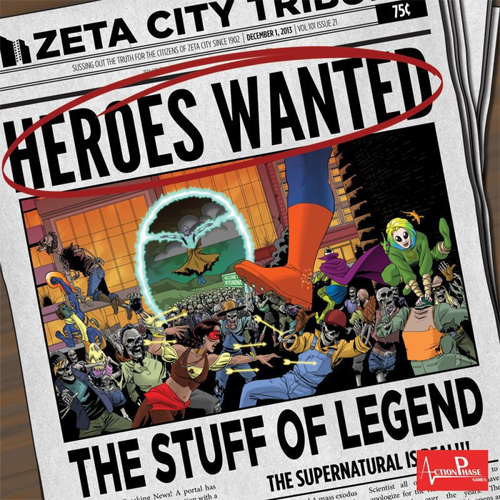 Heroes Wanted: The Stuff of Legend
