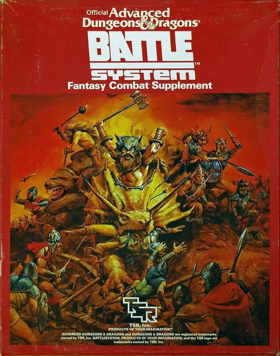 Advanced Dungeons & Dragons Battlesystem