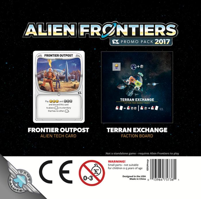 Alien Frontiers: Promo Pack 2017