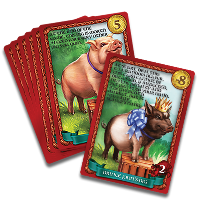 Sheriff of Nottingham: Pig Promo Pack