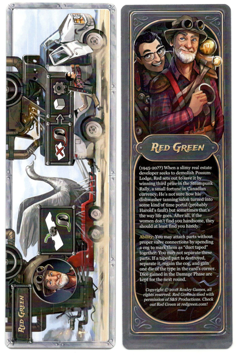 Steampunk Rally: Red Green