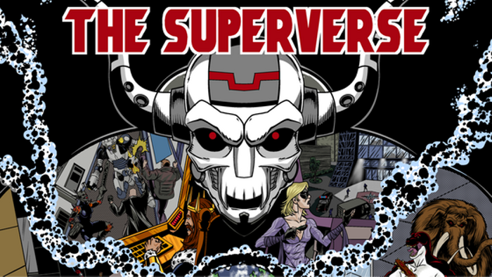 The Superverse - A Superhero Campaign Sourcebook