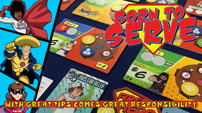Born to Serve - A Superpowered Game of Table Service