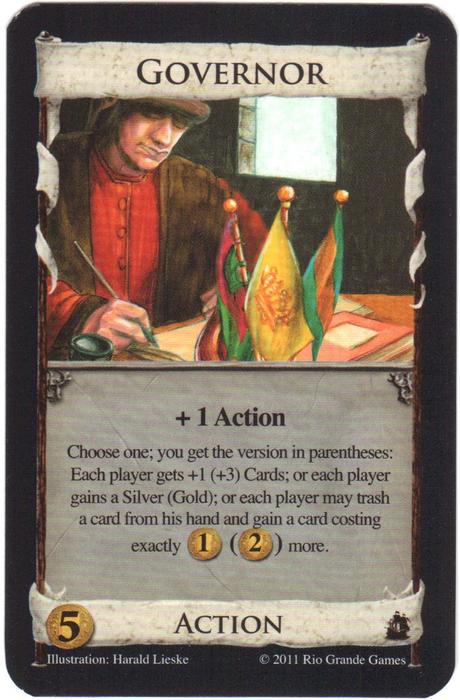 Dominion: Governor Promo Card