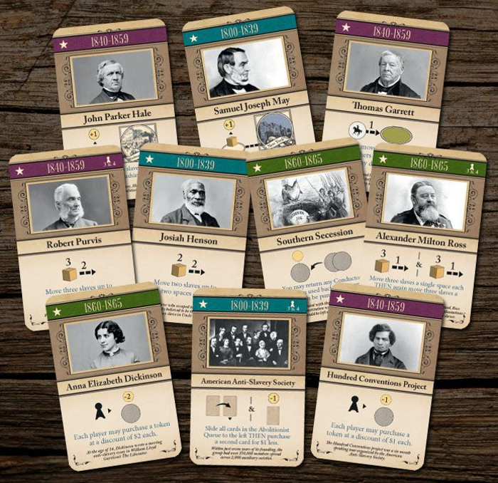 Freedom: The Underground Railroad – Promo Cards