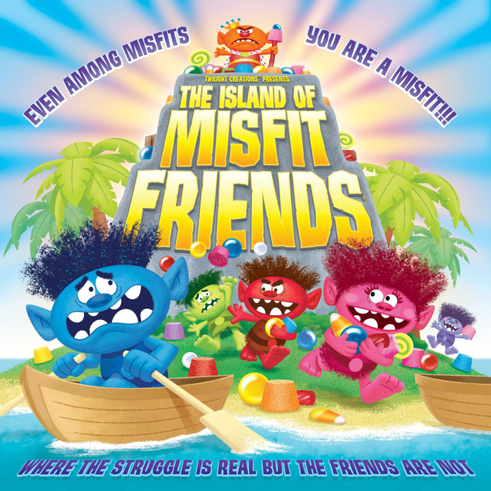 The Island of Misfit Friends