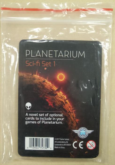 Planetarium: Sci-Fi Set 1