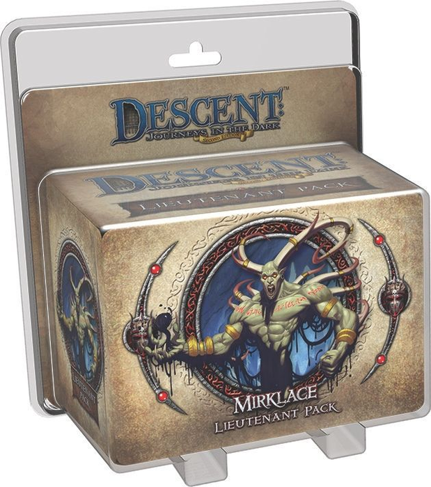 Descent: Journeys in the Dark (Second Edition) – Gargan Mirklace Lieutenant Pack