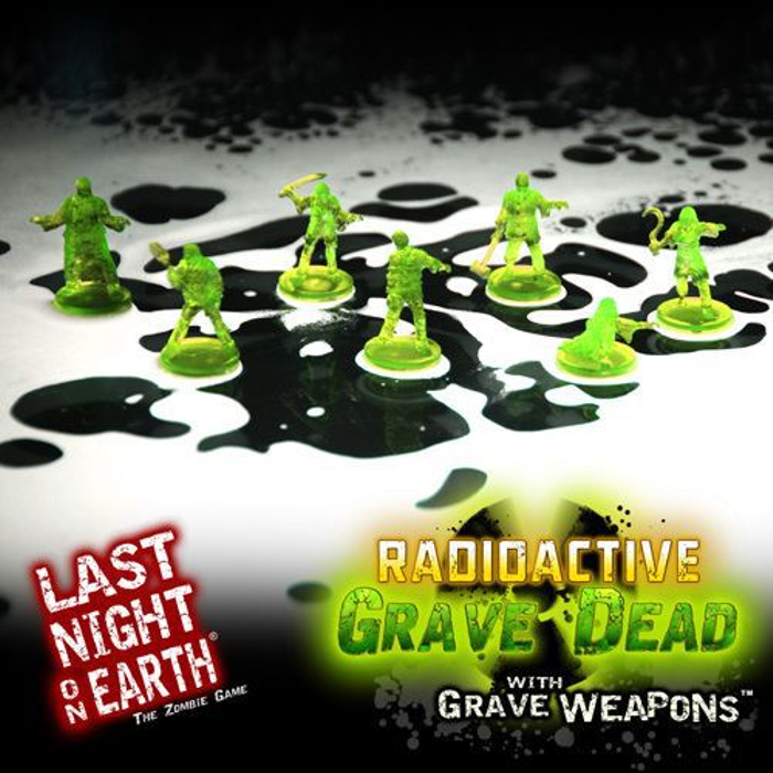 Last Night on Earth: The Zombie Game – Radioactive Zombies with Grave Weapons Supplement