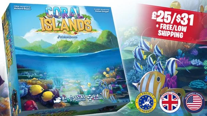 Coral Islands | Board Game Atlas